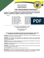 Resolution No. 12-19_Schistosomiasis Task Force