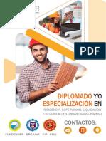Trujillo - Residencia, Supervisión, Liquidación y Seguridad en Obras- 21 Septiembre