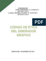 Etica Profesional Informe