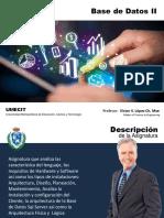 03-Presentación • Base de Datos II