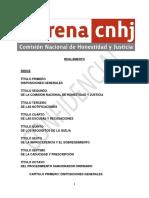 Reglamento de cnhj