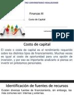 Costo de Capital Finanzas