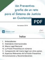 La Prisión Preventiva en Guatemala