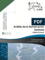 2.3.1 Análisis de La Demarcación Territorial