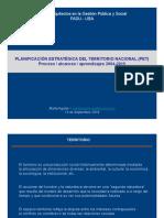 GPS Teorica Marta Aguilar - Planificacion Estrategica Del Territorio Nacional