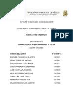 Reporte 1. Clasificación de Intercambiadores de Calor 1