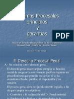 Sist Proc, Ppios y Garantias