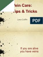 Vein Care Tips Tricks
