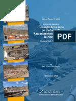 A6606 Geologia Carhuacoto Morococha Junín