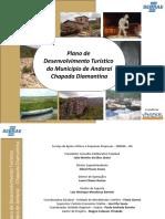 Plano de desenvolvimento turístico de Andaraí