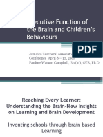 Executive Function of the Brain and Children s Behaviours