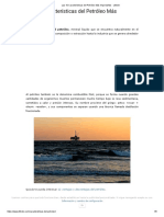 Las 10 Características Del Petróleo Más Importantes - Lifeder