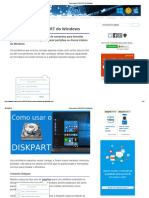 Como Usar o DISKPART Do Windows