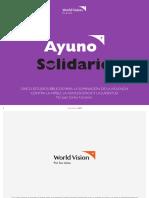 Devocionales Ayuno Solidario 2018 Esp