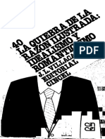 VILLACAÑAS - La Quiebra de La Razón Ilustrada. Idealismo y Romanticismo