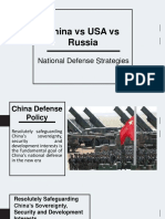 China vs USA vs Russia