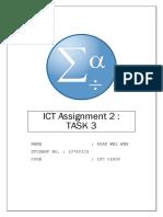 SPSS ICT Assignment