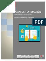 Propuesta de Plan Carrera Leidy Loaiza - Sandra Liliana Reyes