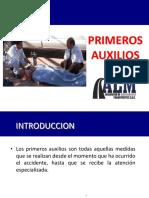 CURSO PRIMEROS AUXILIOS