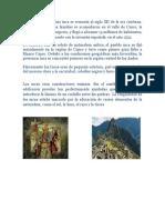 El Origen de La Cultura Inca Se Remonta Al Siglo XII de La Era Cristiana
