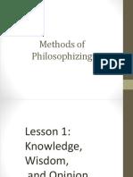Methods of Philosophizing L123