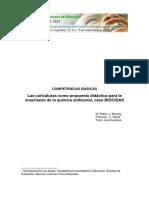M. Pabon Competencias Basicas Las Caricaturas Como Propuesta Didactica Para La Enseñanza de La Quimica Ambiental