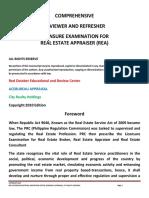 82091192 Comprehensive Reviewer on Appraiser Examjen