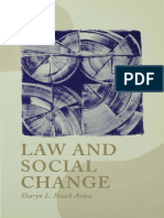 Sharyn L Roach Anleu - Law and Social Change-SAGE Publications Ltd (2000)