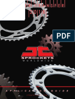 JT Sprockets Application Guide 2018