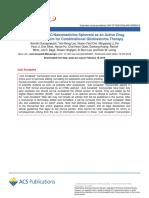 Nanoletters Paper 2019