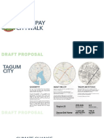Tagum City Climate Policy Review and Urban Design Project Brief Draft Proposal