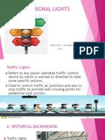 Traffic Signal Lights Jk