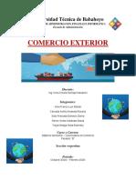 Delimitación de La Teoría y de La Practica Del Comercio Exterior