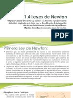 1.4 Leyes de Newton