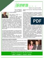 boletin 34 - JULIO 27 08 - REFLEXION - RELEVO EN BRASIL - SEMINARIO EN FLORENCIA