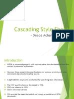 Cascading StyleSheet