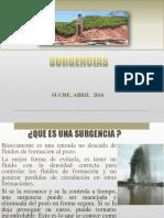 3.- SURGENCIAS