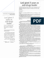 Daily Tribune, Nov. 6, 2019, Leni given 3 years as anti-drugs leader.pdf