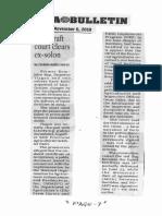 Manila Bulletin, Nov. 6, 2019, Anti-graft court clears ex-solon.pdf