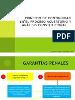 EXPOSICION de Principios Constitucionales