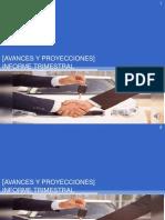 Avances y Proyecciones] Trabajo 4