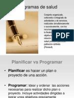 Diseño de programa