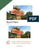 Mount Dajue