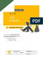 3.1-4 Join Domain
