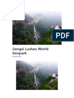 Jiangxi Lushan World Geopark