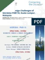 Structural Design Challenges of Merdeka Pnb118 Kuala Lumpur Malaysia
