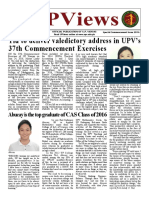 UPV News 2016 Commencement