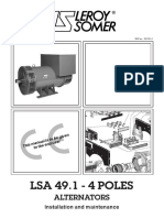 88) Leroy Somer Alternator