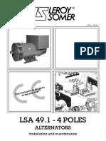 88) Leroy Somer Alternator