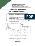 SESION 001 Modulo de Programacion Lineala